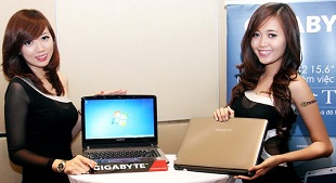 Gigabyte chính thức gia nhập thị trường laptop Việt Nam