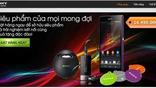 Sony Xperia Z chính hãng giá 16,5 triệu đồng, bán từ ngày 20/3