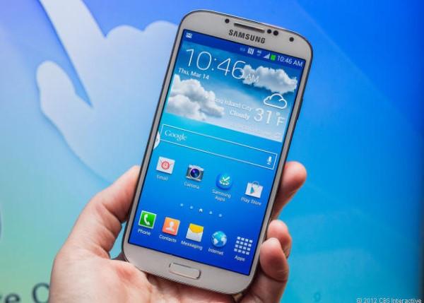 Trải nghiệm nhanh điện thoại Samsung Galaxy S IV