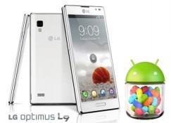 LG Optimus L9 bắt đầu được cập nhật Android 4.1 Jelly Bean