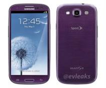 Samsung Galaxy S III sẽ sớm có màu tím