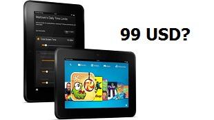 Amazon đang sản xuất Kindle Fire HD 7 inch mới, giá 99 USD