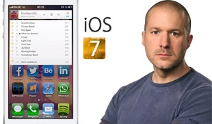 "iOS 7 sẽ mang giao diện ""phẳng"" mới?"