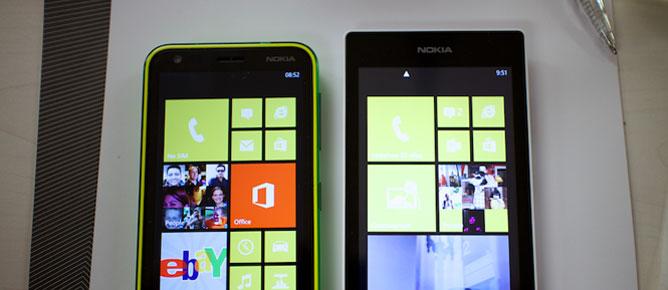 Nokia Lumia 520 và Lumia 620 khác nhau như thế nào?