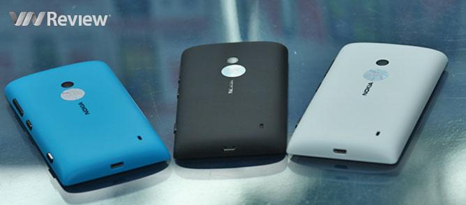 Trên tay Nokia Lumia 520 chính hãng