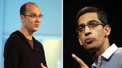 """Samsung: Andy Rubin """"cứng đầu"""" còn Sundar Pichai """"siêu hợp tác"""""""