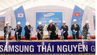 Samsung Thái Nguyên là nhà máy sản xuất ĐTDĐ lớn nhất thế giới