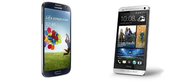 Samsung Galaxy S4 và HTC One lên bàn cân: Ai hơn ai?
