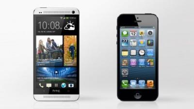 HTC One đọ độ cứng với iPhone 5