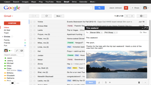 Google mặc định cửa sổ soạn thảo Gmail kiểu mới
