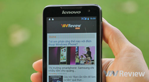 Đánh giá Lenovo P770