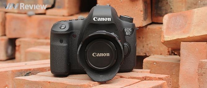 Đánh giá Canon EOS 6D - máy ảnh full-frame tích hợp WiFi và GPS