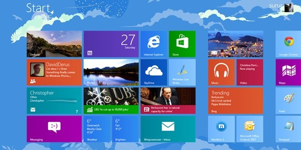 Microsoft giảm yêu cầu độ phân giải, cho phép sản xuất tablet Win 8 cỡ nhỏ