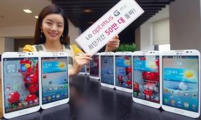 LG Optimus G Pro đã bán được 500.000 chiếc ở Hàn Quốc