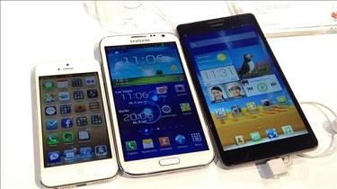 """Điện thoại cỡ vừa vẫn là """"vua"""": phablet chỉ chiếm 2% tổng số thiết bị"""