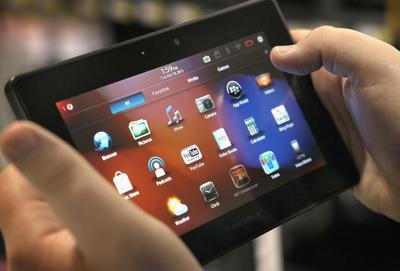 BlackBerry cân nhắc khả năng phát triển tablet chạy BB10