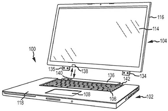 Apple đăng ký bằng sáng chế sạc không dây trên thiết bị tablet lai laptop