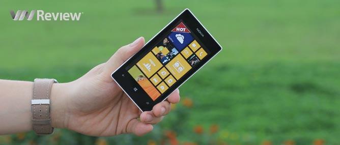 Đánh giá điện thoại Nokia Lumia 520