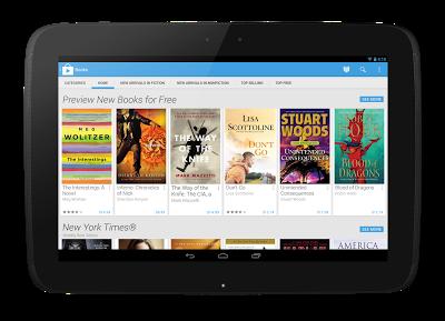 Google Play chính thức ra mắt giao diện mới