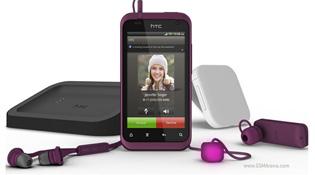 Cận cảnh HTC Rhyme: Android thời trang cho phái nữ