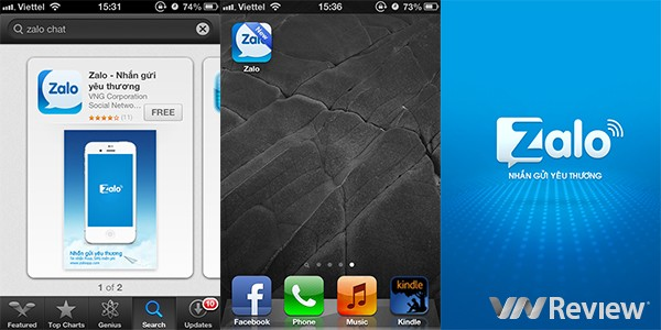 cai zalo cho iphone 3g