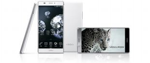 """Smartphone Hàn Quốc Pantech Vega Iron """"không viền màn hình"""""""