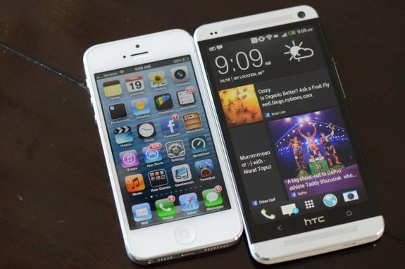5 lý do vì sao HTC One tuyệt vời hơn iPhone 5