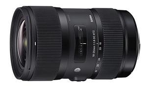 Sigma giới thiệu ống kính 18-35mm cố định khẩu độ F1.8 đầu tiên trên thế giới