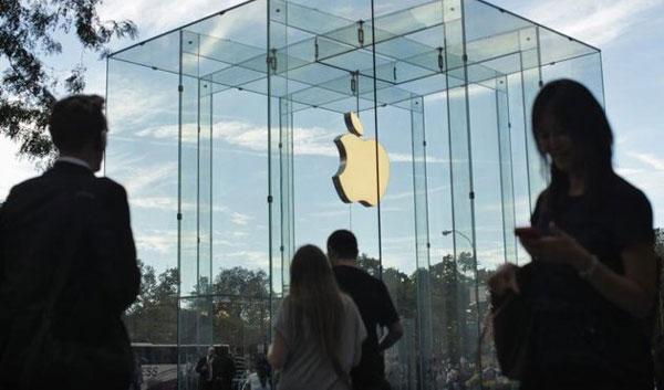 Lợi nhuận Apple sụt giảm mạnh