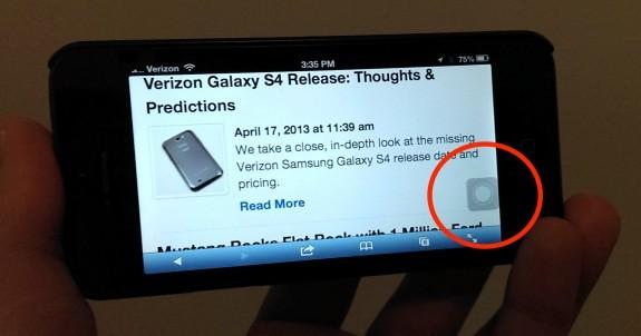 Kết quả hình ảnh cho Khai thác tính năng của nút Home ảo trên iPhone