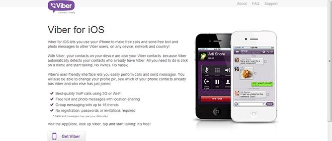 Cài đặt và sử dụng Viber trên iPhone