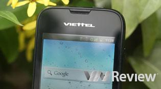 Đánh giá nhanh điện thoại Viettel V8404