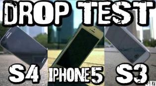 Galaxy S4 dễ vỡ hơn iPhone 5 và Galaxy S3