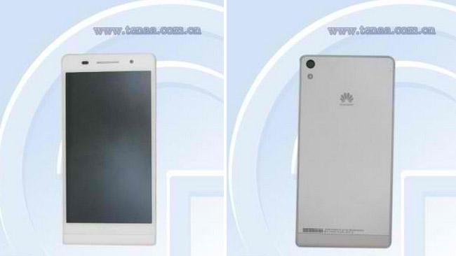 """Lộ diện Huawei P6: chiếc điện thoại """"mỏng khó tin"""""""