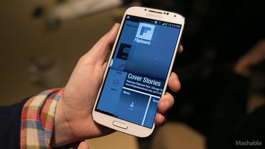 Galaxy S4 bị nóng máy bất thường