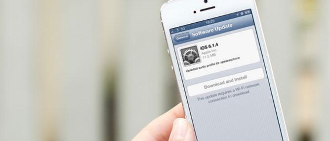 iOS 6.1.4 cho iPhone 5: Cập nhật cho vui!
