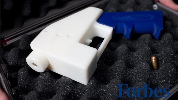 Sinh viên luật Mỹ thiết kế và tạo ra khẩu súng được in 3D đầu tiên trên thế giới