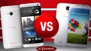 Galaxy S4 và HTC One đọ quay phim