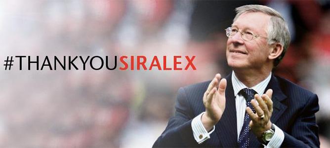 Sir Alex về hưu, fan MU trên Facebook rơi lệ
