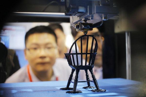 Trung Quốc hăng hái đón đầu công nghệ in 3D