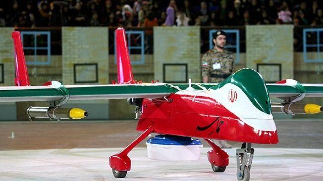 Iran ra mắt UAV chiến đấu tàng hình