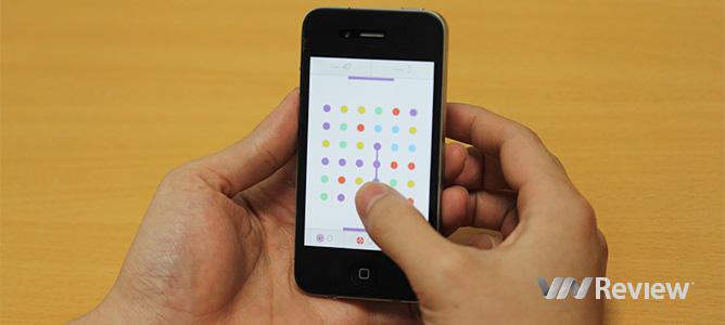 Dots đang làm người dùng iPhone phát cuồng