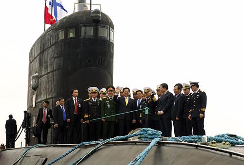 Thông số kỹ thuật tàu ngầm Kilo Việt Nam