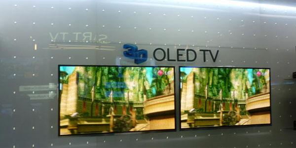 TV OLED Samsung cỡ 55 inch sẽ có mặt tại CES 2012