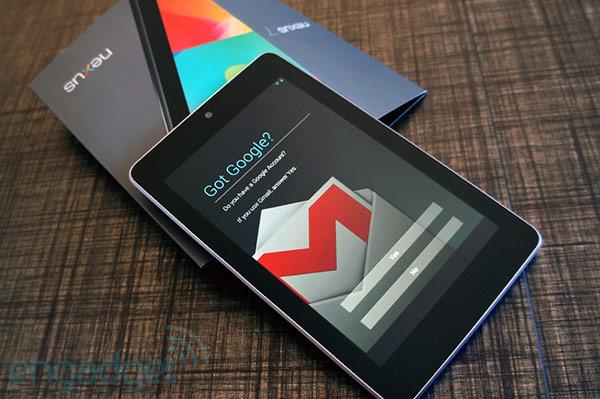Nexus 7 thế hệ thứ 2 đã đến các kho hàng