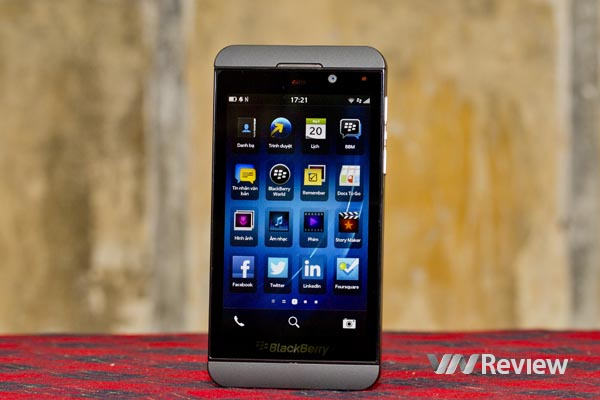 Một tuần với BlackBerry Z10