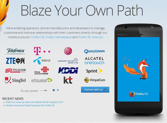 Foxconn sẽ ra mắt smartphone chạy Firefox OS vào ngày 3/6