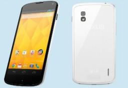 LG chính thức ra mắt Nexus 4 màu trắng, vẫn chạy Android 4.2