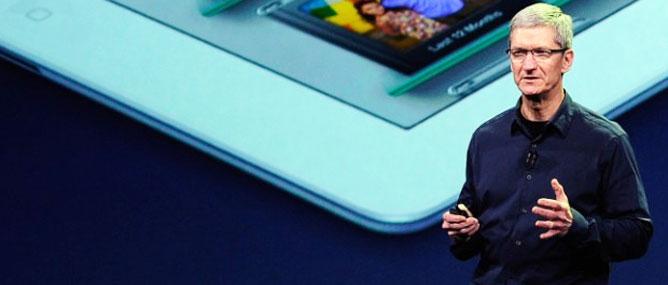 Tim Cook nói gì về iWatch, iPhone mới, Android và thuế?