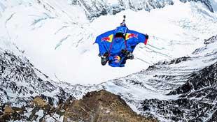 Video nhảy từ đỉnh Everest cao hơn 7km
